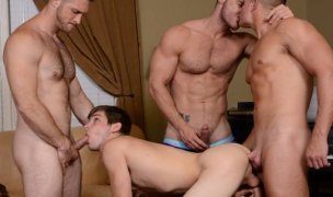 Johnny Rapid, Landon Conrad, Logan Vaugh