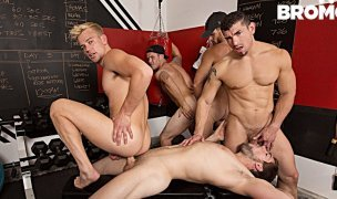 Shawn Reeve, Jeremy Spreadums, John Delta, Evan Marco e Griffin Barrows