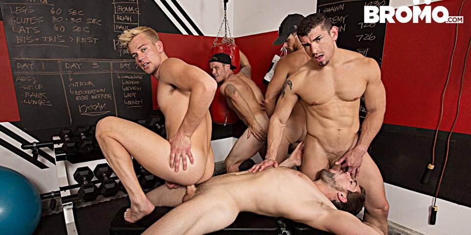 Shawn Reeve, Jeremy Spreadums, John Delta, Evan Marco e Griffin Barrows]