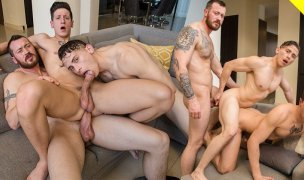 Dalton Riley, Mark Long e Dante Martin