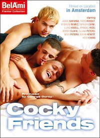 DVD Gay Cocky Friends